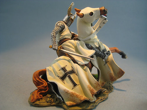 TEAM MINIATURES -REF BOL6006 - Chevalier Teuton  cheval blessé
