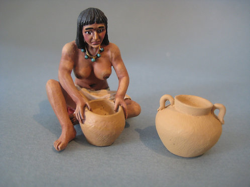 TEAM MINIATURES -REF CLB6010- COLOMB  - INDIEN POTERIE