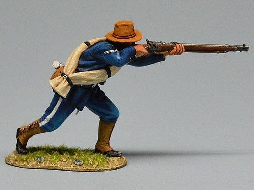 TEAM MINIATURES -REF SPA6004- GUERRE  CUBA 1898 - SOLDAT US TIREUR DEBOUT 1