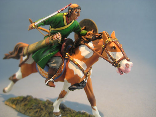 TEAM MINIATURES -REF MGL6015 - MONGOL CHARGEANT AVEC SABRE 4