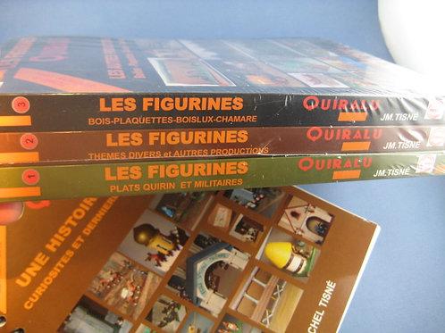 """Les figurines Quiralu"" - tome 1, 2, 3 & 4 FORMAT 21 X 29,7cm"