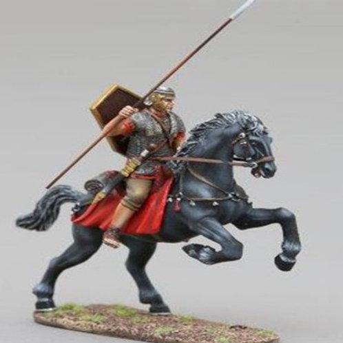 THOMAS GUNN - Rèf ROM093A -  CAVALIER ROMAIN AUXILIAIRE  AVEC LANCE