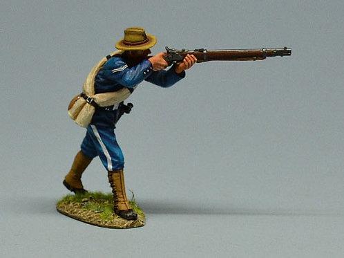TEAM MINIATURES -REF SPA6008- GUERRE  CUBA 1898 - SOLDAT US TIREUR DEBOUT 2
