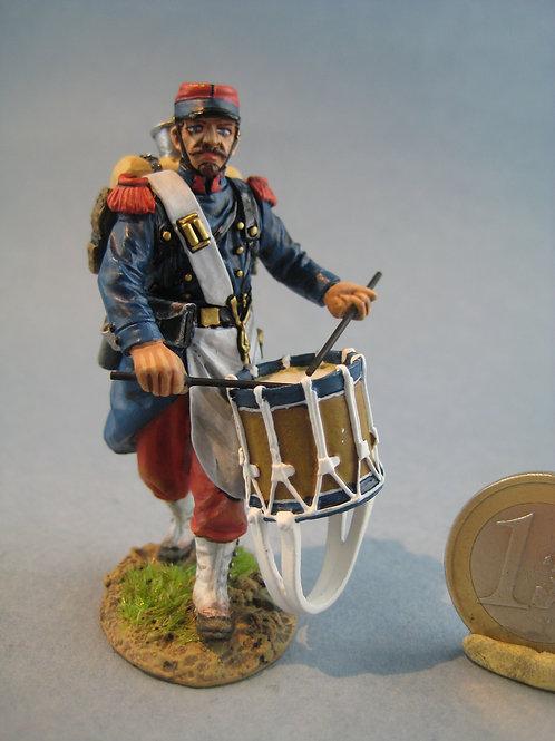 TEAM MINIATURES -REF PFW-F6009 -Guerre de 70- Infanterie tambour