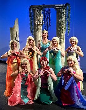 The Little Mermaid Jr costume set rental