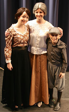 The Music Man Jr costume set rental Marian Mrs Paroo Winthrop