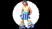 Flounder - Little Mermaid Jr costume set rental