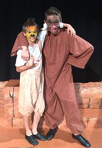 Lion King KIDS Timon Pumbaa costume set rental