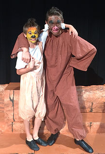 Lion King KIDS Timon Pumbaa costume set rental