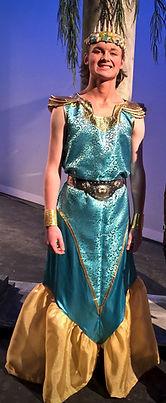 King Triton & Sebastian - The Little Mermaid Jr costume set rental
