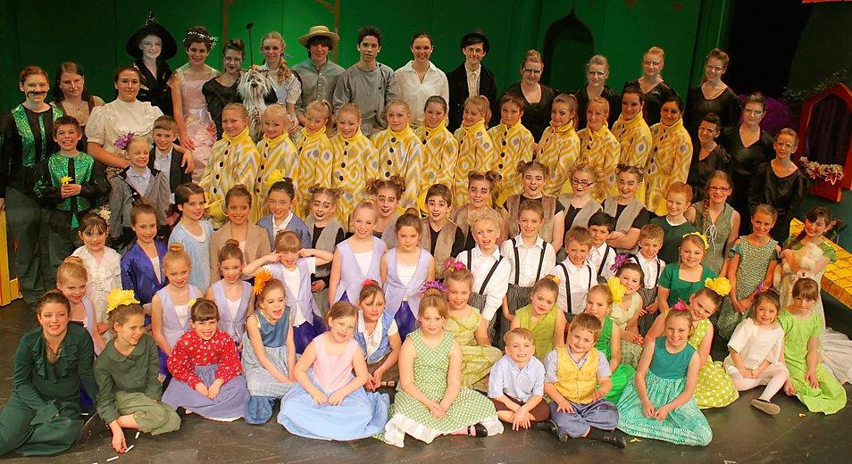 Wizard of Oz YPE cast costume set rental