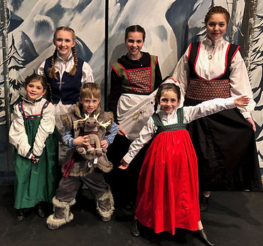 Townspeople Frozen Jr costume set rental