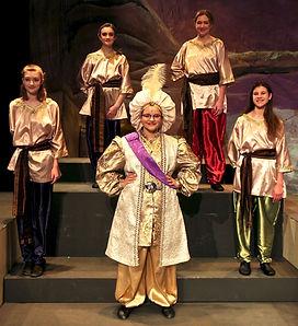 Sultan and Palace Staff - Aladdin Jr costume set rental