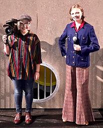 Candy Hammernose Cameraman Madagascar Jr costume set rental