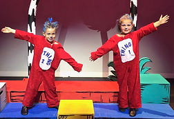 Thing 1, Thing 2, Seussical KIDS, Seussical Jr, costume set rental