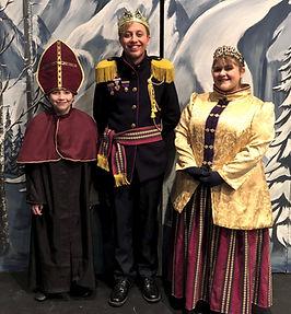 King Queen Bishop Frozen Jr costume set rental