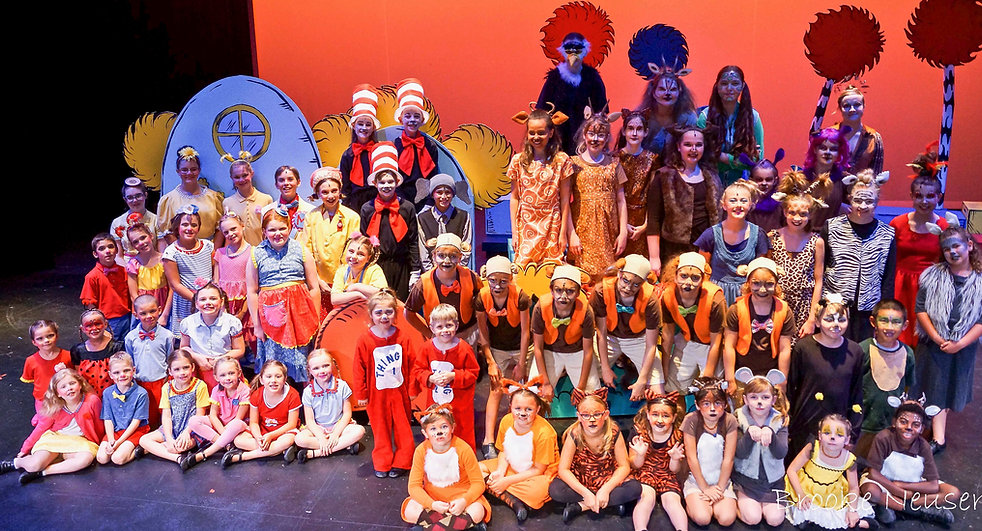 Seusscial KIDS, Seussical Jr, full Cast, costume set rental
