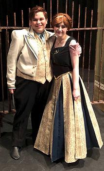 Hans Anna Frozen Jr costume set rental