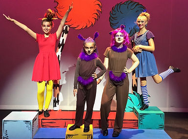 Seussical KIDS, Seussical Jr, Mazie, Sour Kangaroo, Young Kangaroo, Gertrude, costume set rental