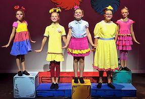 Seussical KIDS, Seussical Jr, Whos, costume set rental
