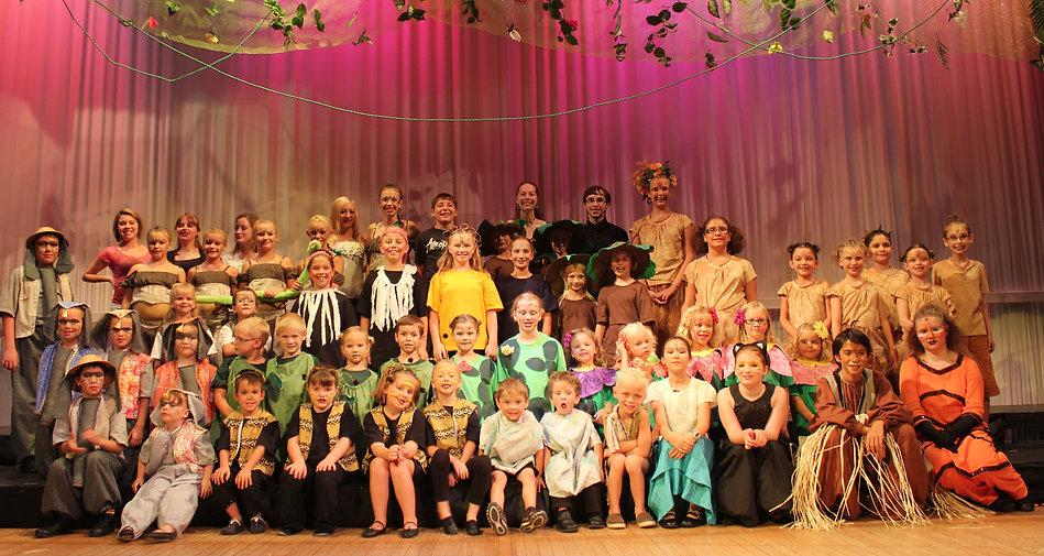 The Jungle Book KIDS cast costume set rental