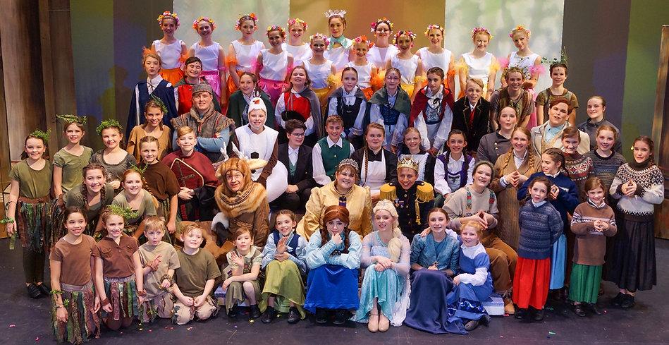 Cast Frozen Jr costume set rental