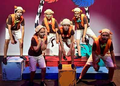 Seussical KIDS, Seussical Jr, Wickersham Brothers, costume set rental