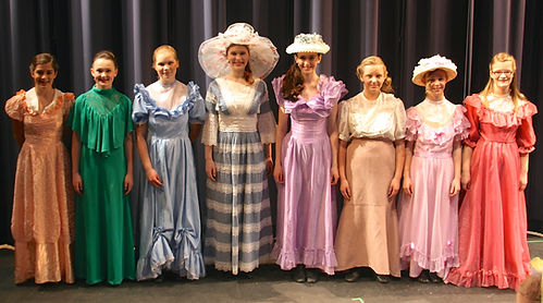 The Music Man Jr Eulalie Pick a little ladies costume set rental