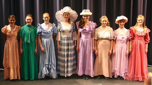 The Music Man Jr Eulalie Pick a little ladies costume set rental