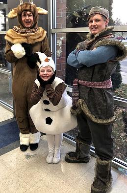 Kristoff Sven Olaf Frozen Jr costume rental