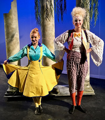 Flounder and Scuttle - The Little Mermaid Jr costume set rental