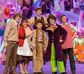 Willy Wonka Jr costume set rental
