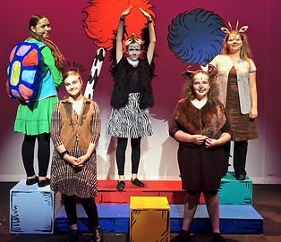 Yertle, Vlad, Marshal, Jungle animals, Seussical KIDS. Seussical Jr, costume set rental