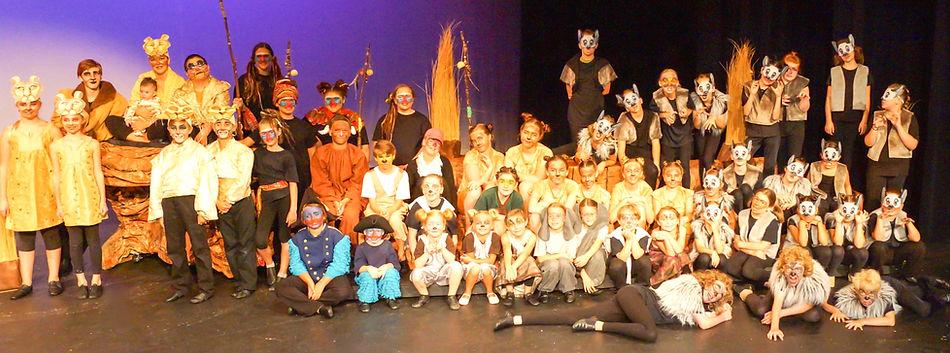 The Lion King KIDS cast costume set rental