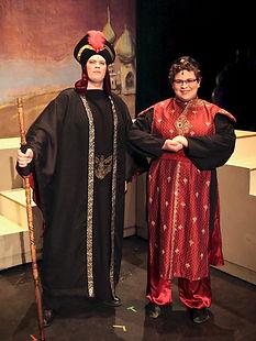 Jafar and Iago - Aladdin Jr costume set rental