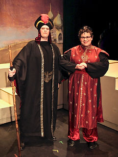 Jafar and Iago - Aladdin Jr costume set rental