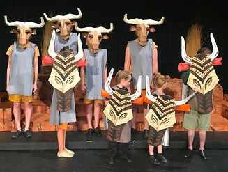Lion King KIDS wildebeasts costume set rental