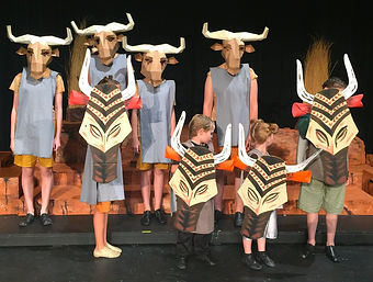 Lion King KIDS wildebeasts costume set rental