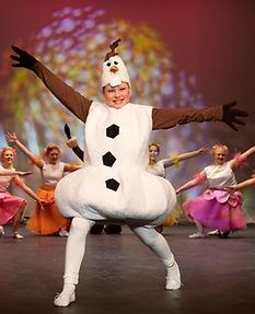 Olaf Frozen Jr costume set rental