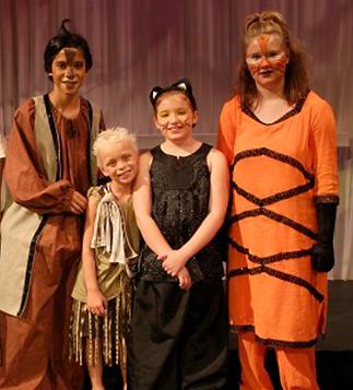 Jungle Book KIDS baloo mogli bagheera shere khan costume set rental