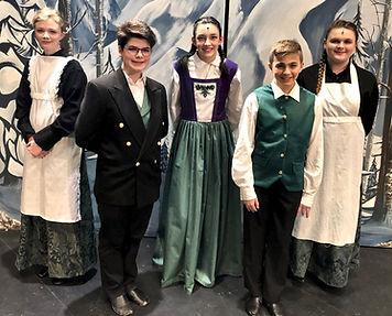 Castle Staff Frozen Jr costume set rental
