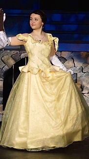Belle - Beauty & the Beast Jr costume set rental