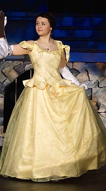 Belle - Beauty & the Beast Jr costume set rental