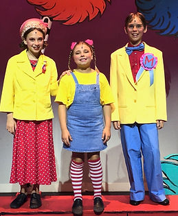 Seussical KIDS, Seussical Jr,  Jo Jo, Mr Mayor, Mrs Mayor, costume set rental
