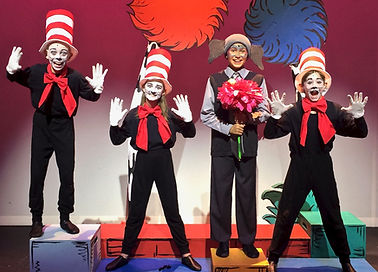 Seussical KIDS, Seussical Jr, Horton Cat in the Hat costume set rental