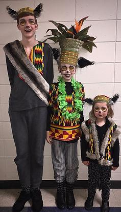 King Julien Maurice Mort - Madagascar Jr costume set rental