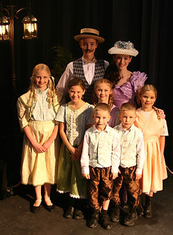 Music Man JR Hix family costume set rental