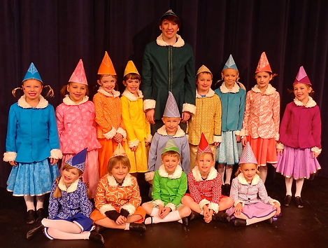 Elf Jr Buddy and Elves costume set rental