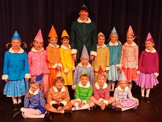Elf Jr Buddy and Elves costume set rental