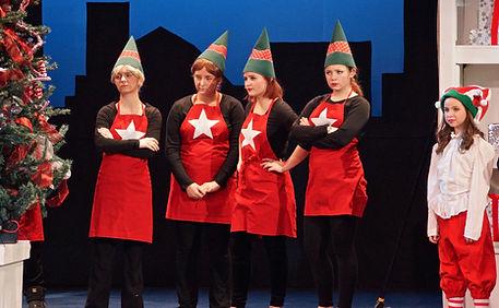Macys employees - Elf Jr costume set rental